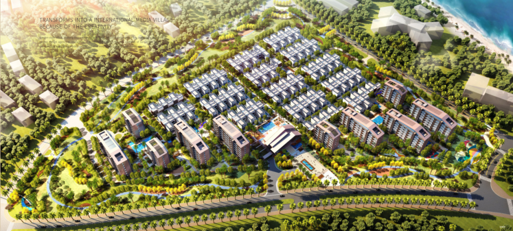 国广海棠湾鸟瞰图