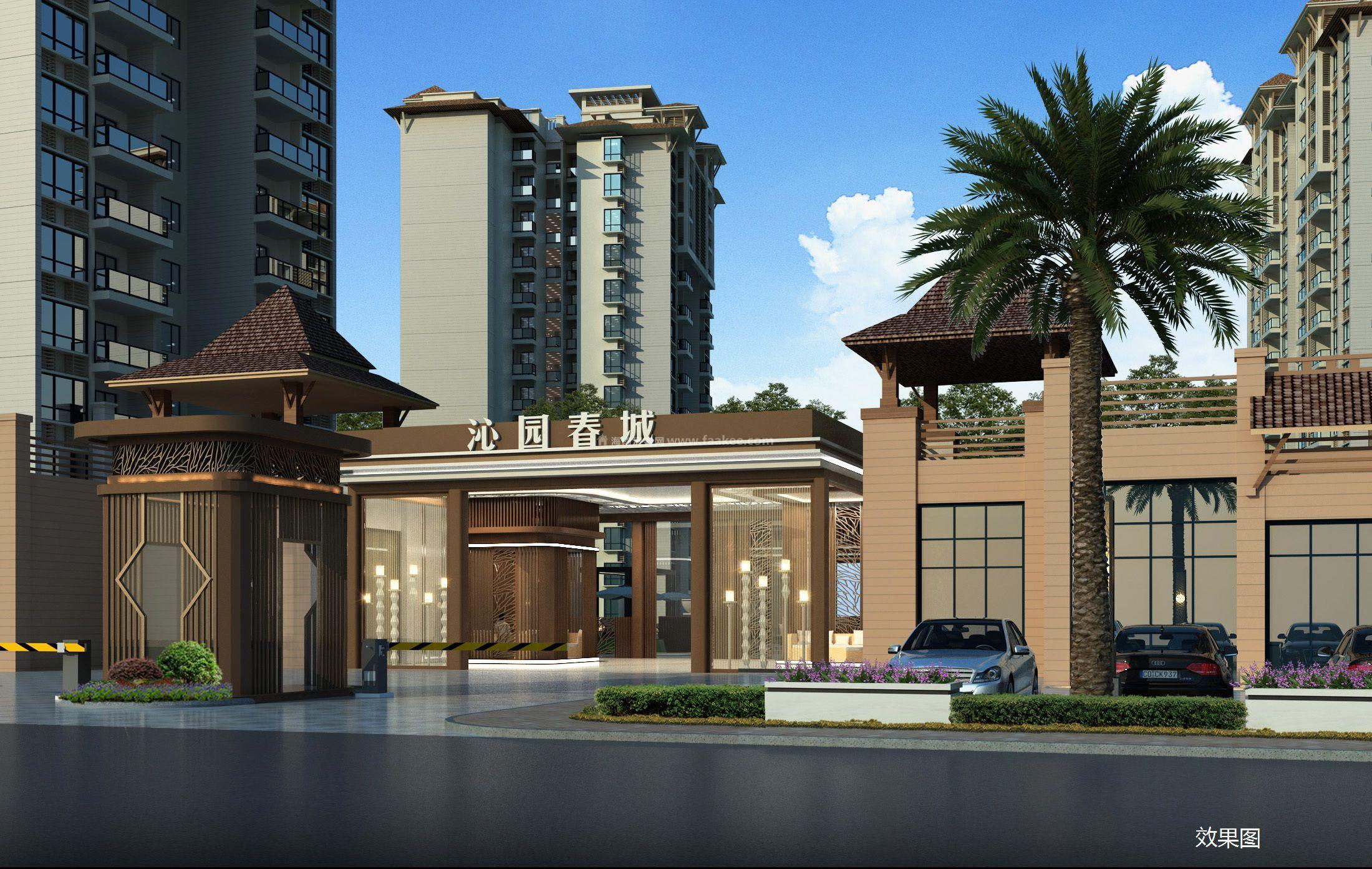 三亚沁园春城项目于C、D、E、F#楼新房源在售