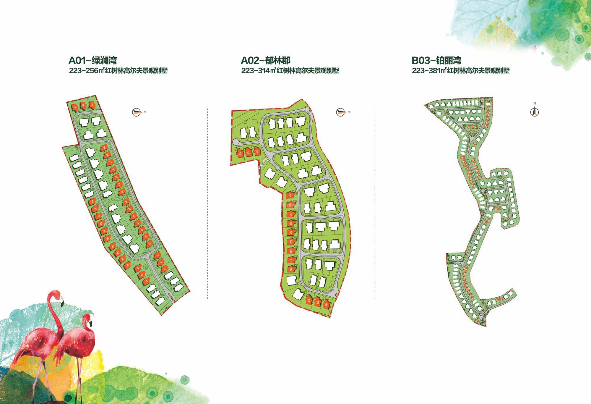 DB独栋别墅户型规划图