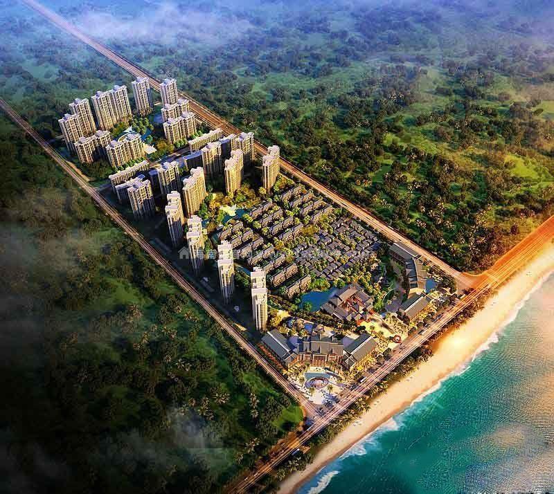 儋州海阳城高层、颐公馆、洋房在售单价约15588-21500元/㎡