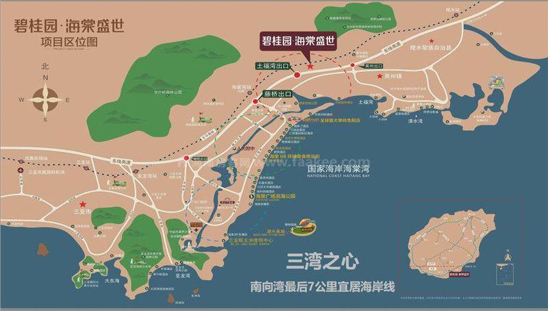 碧桂園海棠盛世區位圖