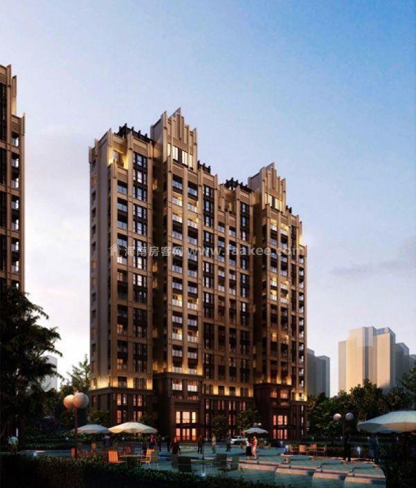 海口滨海新天地3居户型在售,均价约17000元/㎡