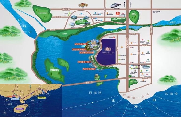 海都文化广场交通图