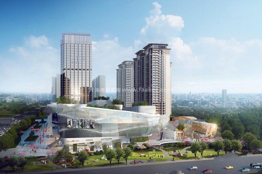 昆明呈贡吾悦广场第1栋和12栋住宅喜封金顶