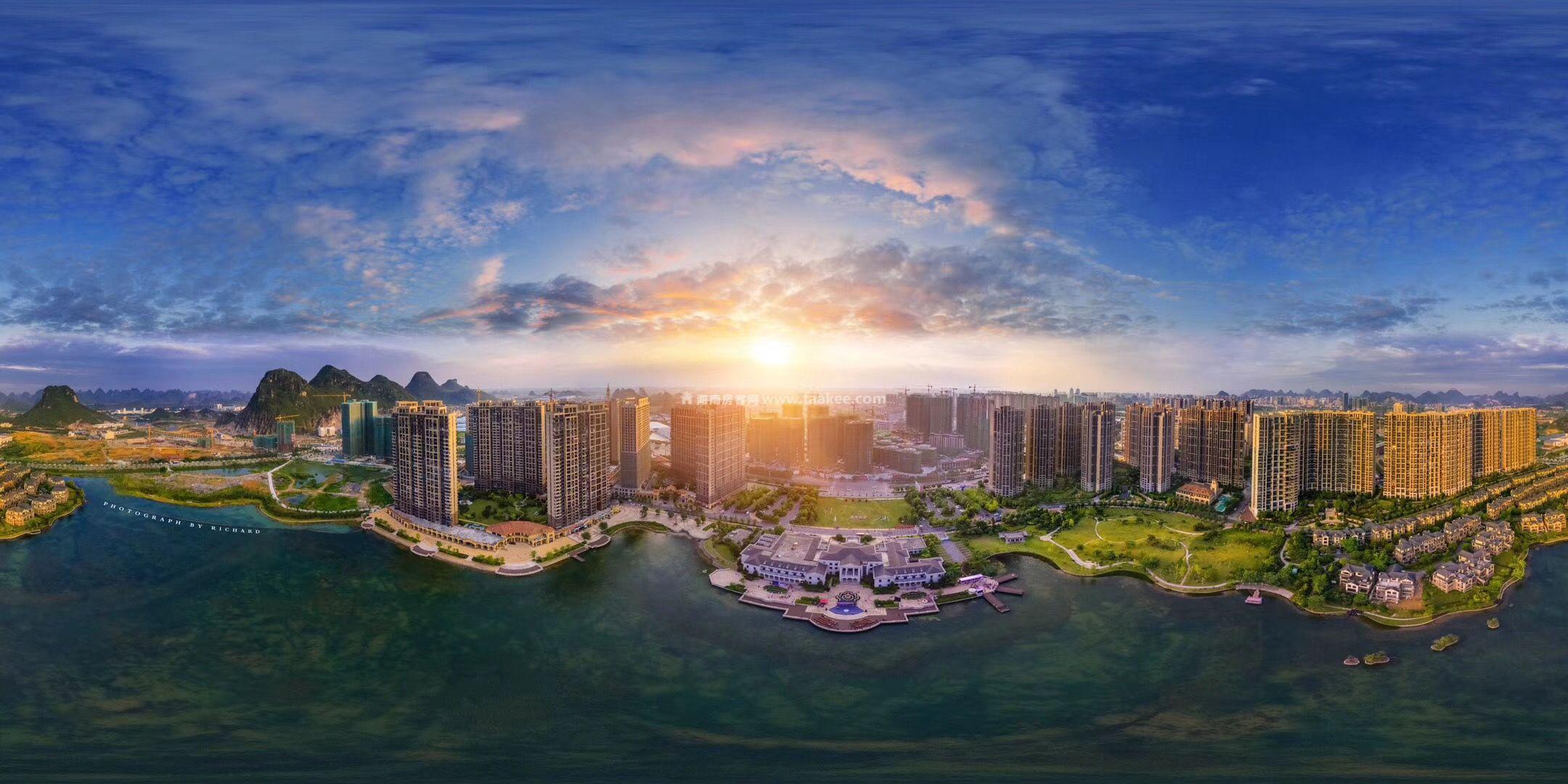 桂林花样年麓湖国际社区两万抵五万,现场98折
