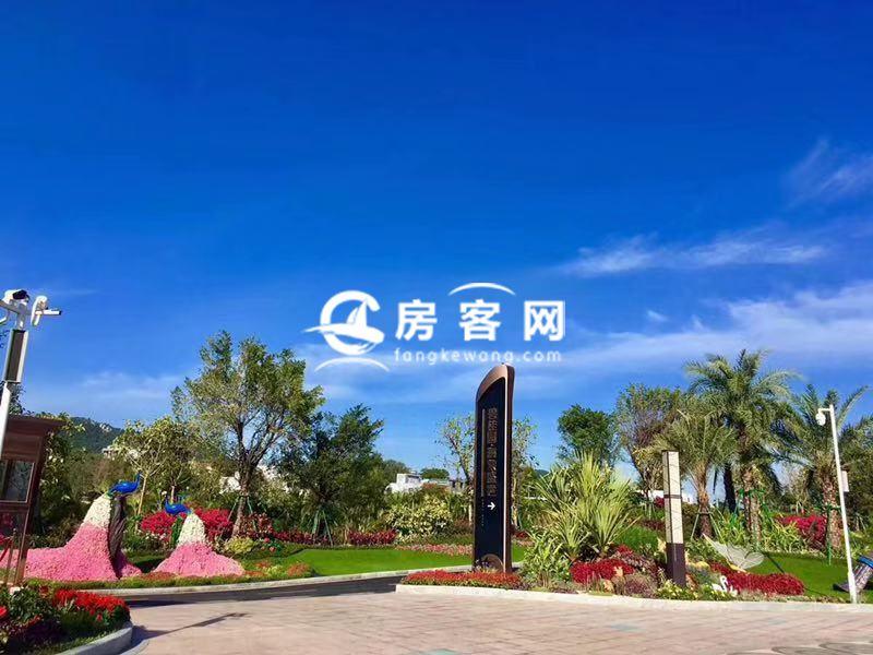 碧桂園海棠盛世實景圖
