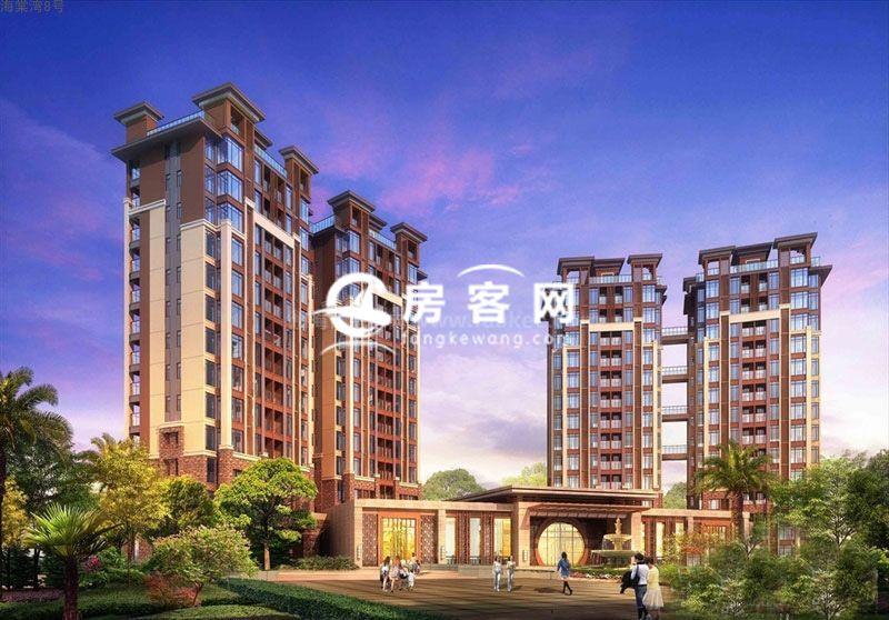 三亚海棠湾8号项目公寓温泉院墅在售,均价约29600元/㎡