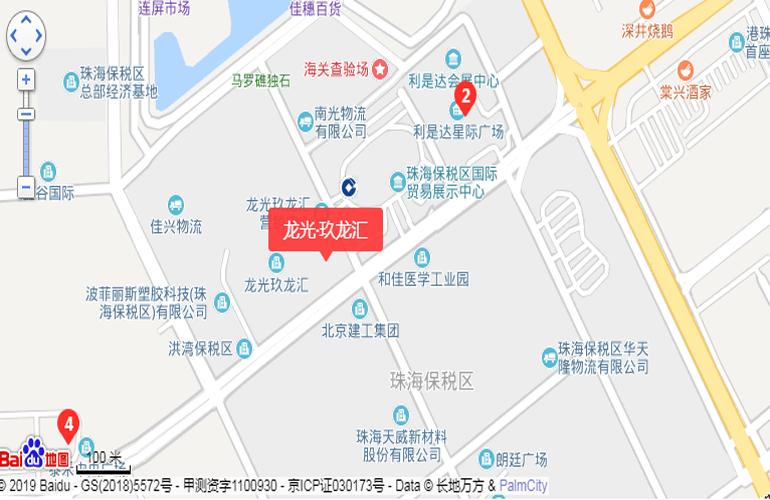 龙光玖龙汇 交通图