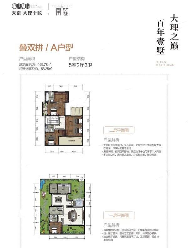 C1s联排别墅 5室3厅5卫--厨 建筑面积:224.99㎡