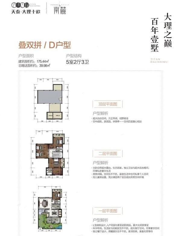 叠双拼B 5室2厅3卫--厨 建筑面积:168.66㎡