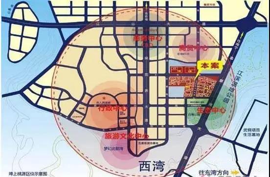 埠上桃源交通图