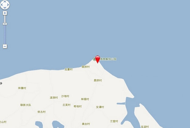 长岛蓝湾电子交通图