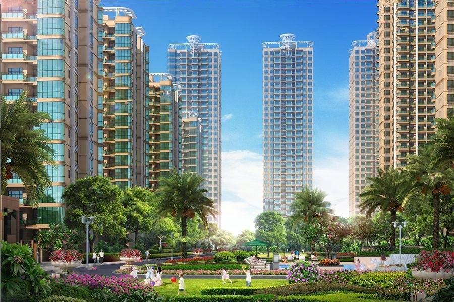 碧海蓝天台湾城实景图