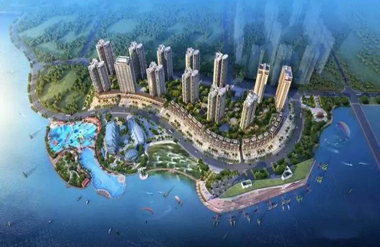 海都文化广场鸟瞰图