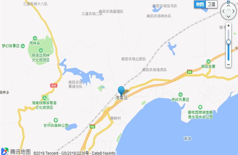 海棠逸境交通图