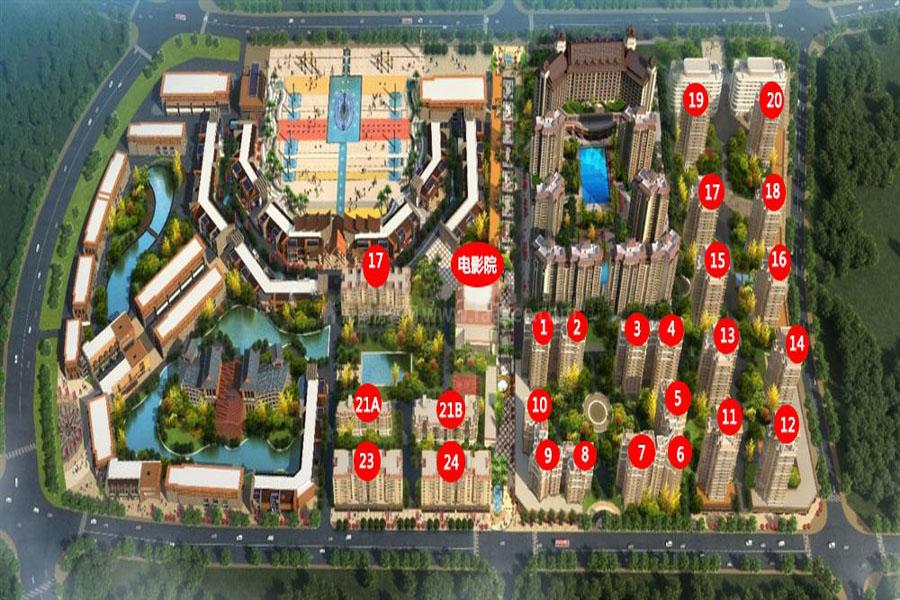 楼栋信息图