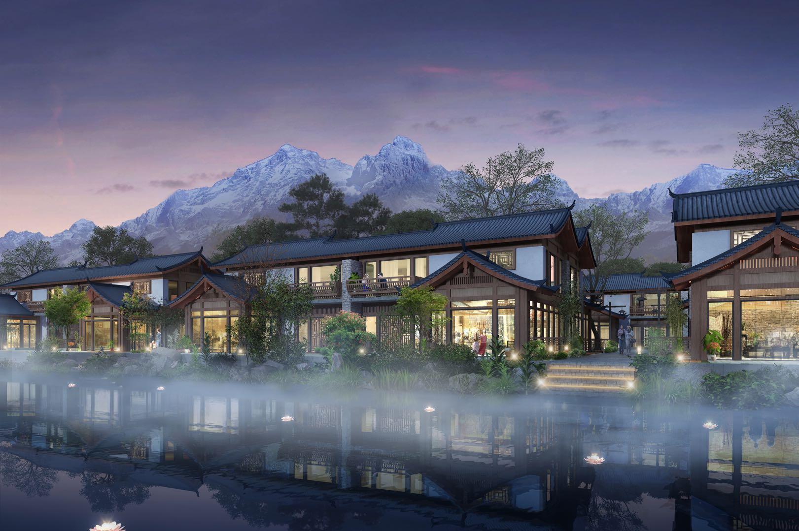 束河秘境国际康养度假区 院墅产品度假之选