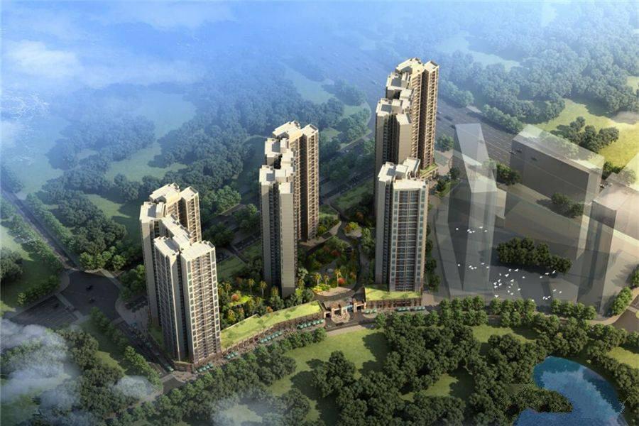 桂林花样年麓湖国际社区项目在售湖居美宅,均价5600元/㎡