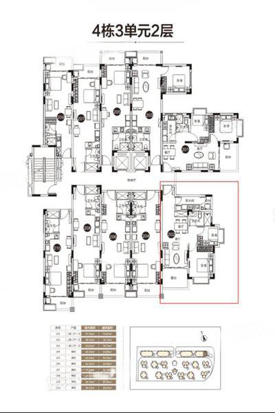 2室2厅1卫1厨 建筑面积:76.72㎡