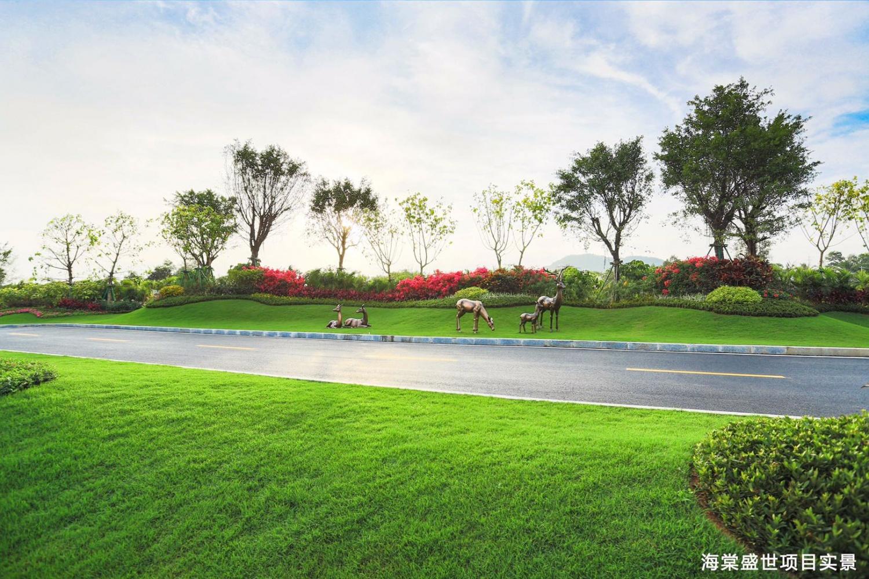 海棠盛世实景图