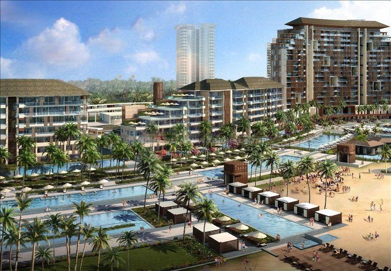 Aloha阿羅哈板式結構 南北通透園景海景戶型 均價42000-60000元/㎡