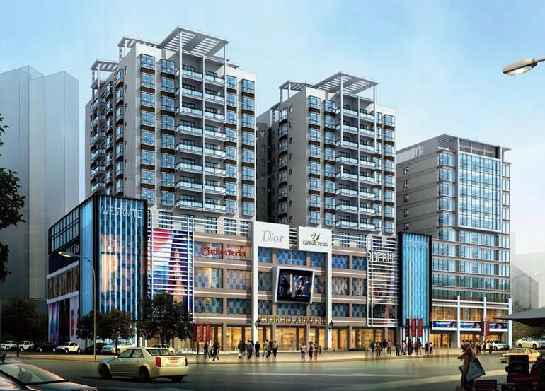陵水 匯豐廣場:雅致兩居 總價42萬/套帶裝修