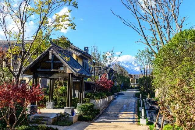 昆明天瑞豪生麗江度假區多種房源戶型,在售