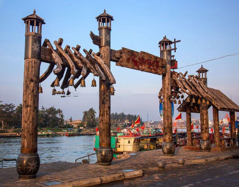 周边配套:潭门渔港