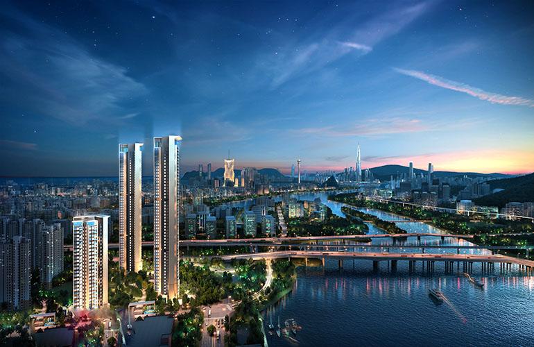 珠海龙光玖龙湾 江景美宅 在售户型建面108-123㎡3居 敬请关注!