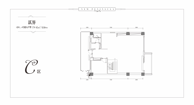 跃界C区5、6号楼大户型建面79㎡.JPG