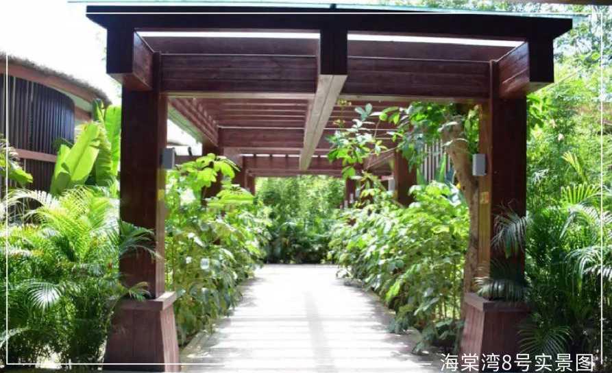海棠湾8号温泉公馆实景图