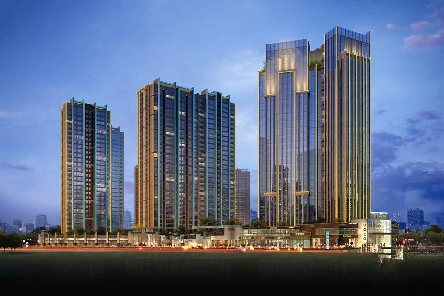 桂林地王国际项目二期公园美宅在售,团购2万抵4万