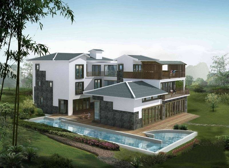 桂林水印长廊项目独栋别墅实景现房在售,售价1480万元/套起