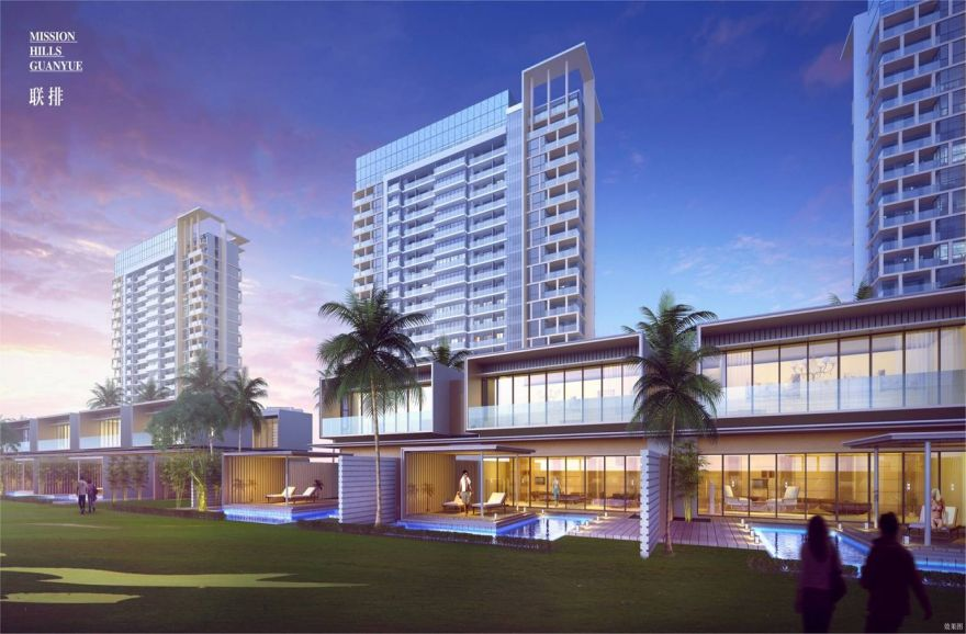 海口观澜湖观悦项目两房户型总价约113万/套