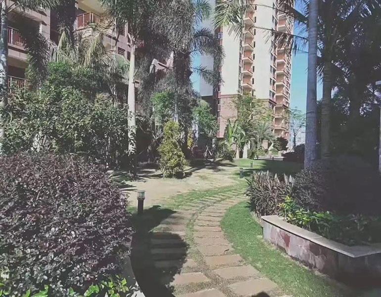 临海家园实景图