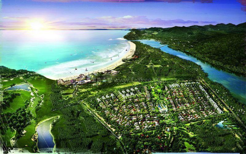 中海神州半岛鸟瞰图