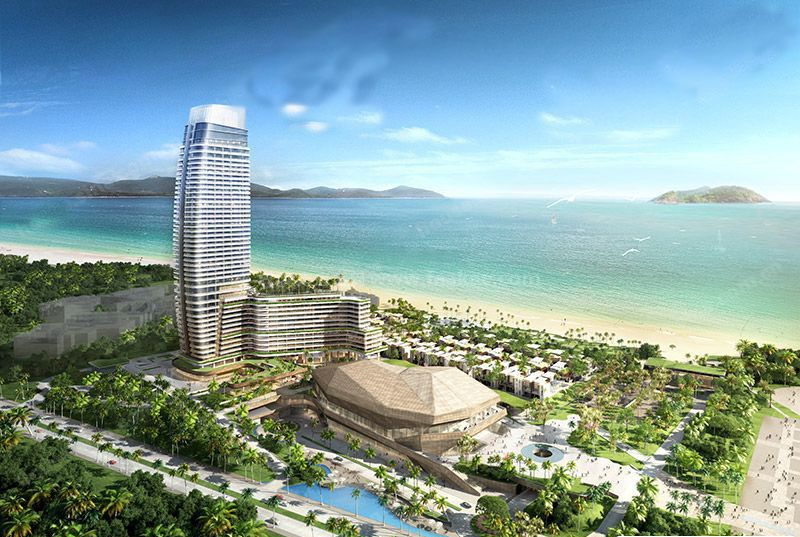 三亚 国家海岸保利财富总价4800-6300万元/套
