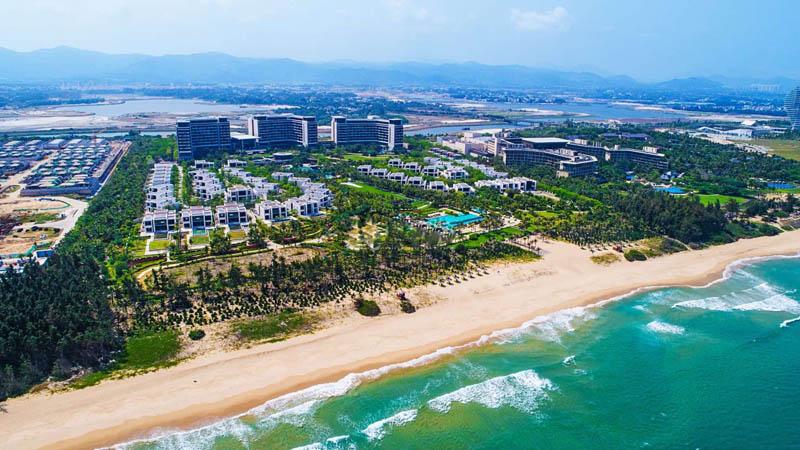 三亚 海棠湾银海规划建设54套全独栋海边渡假式别墅