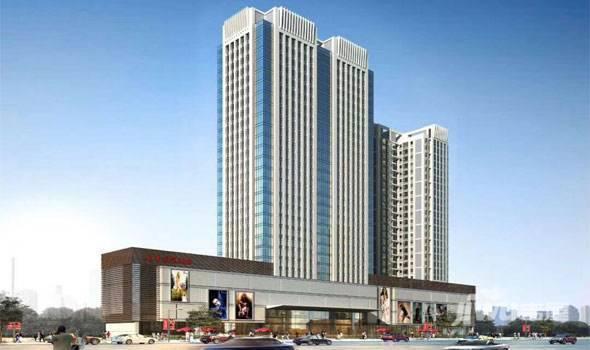 北海长青商业广场项目目前主推1#、2#楼,住宅公寓在售