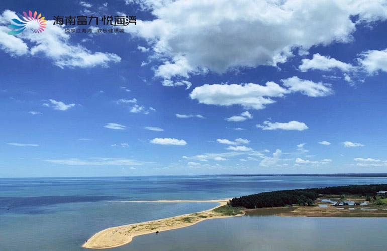 富力悦海湾实景图