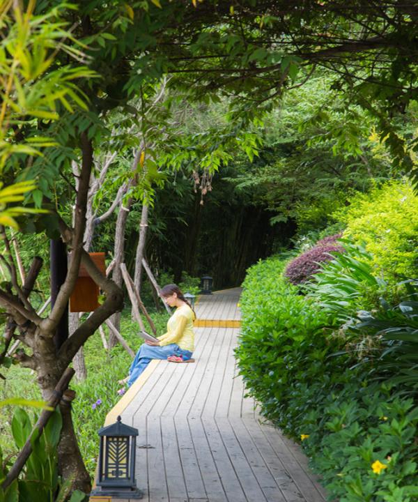萬科湖畔度假公園實景圖