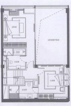 3室2厅3卫 建面110㎡