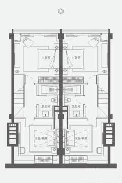 2室2厅2卫 建面 100㎡