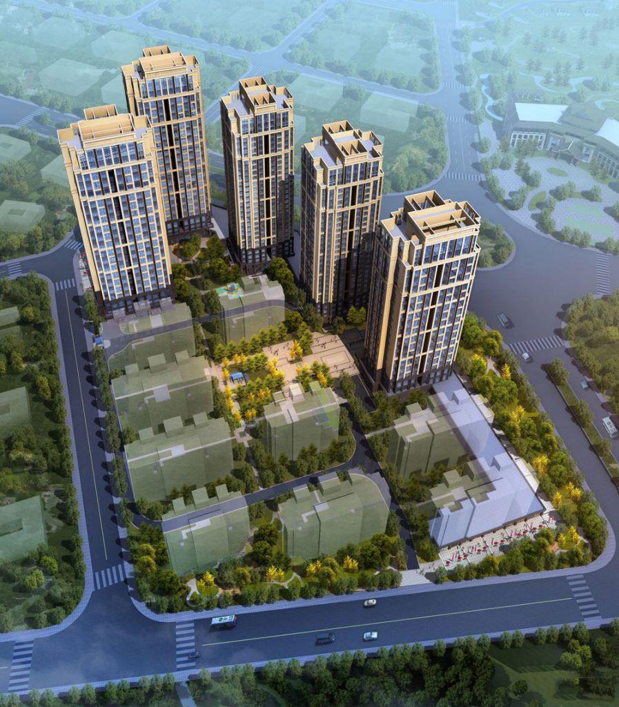福州凤翔湖滨世纪建面88㎡-120㎡纯住宅在售中