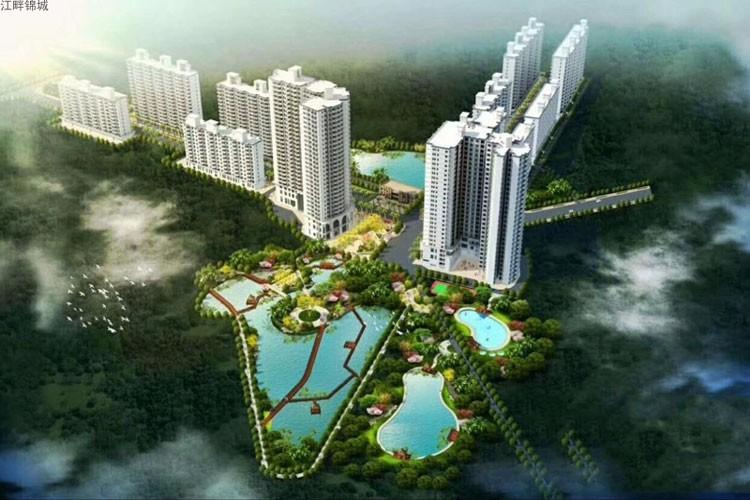 定安江畔锦城目前在售楼栋为C栋 带装修均价8800元/㎡