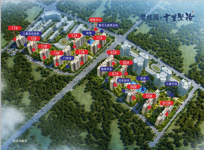 定安碧桂园十里繁花13号楼预计2019年11月初开盘