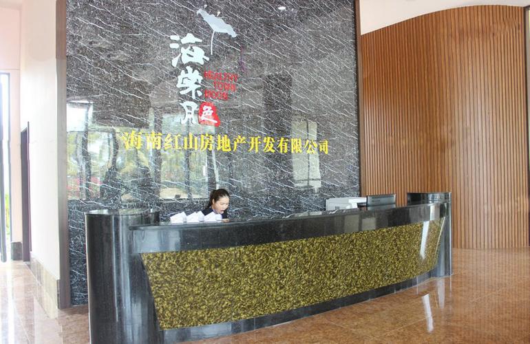 海棠月色实景图