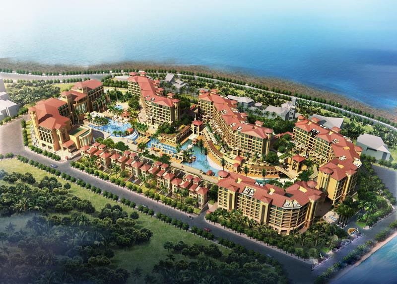 海南海口湾1号项目一期现房在售,均价32000元/㎡,一房一价,