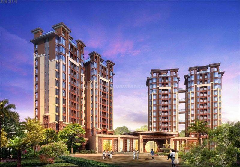 三亚 海棠湾8号温泉公馆主推公寓温泉院墅,均价约29600元/㎡!