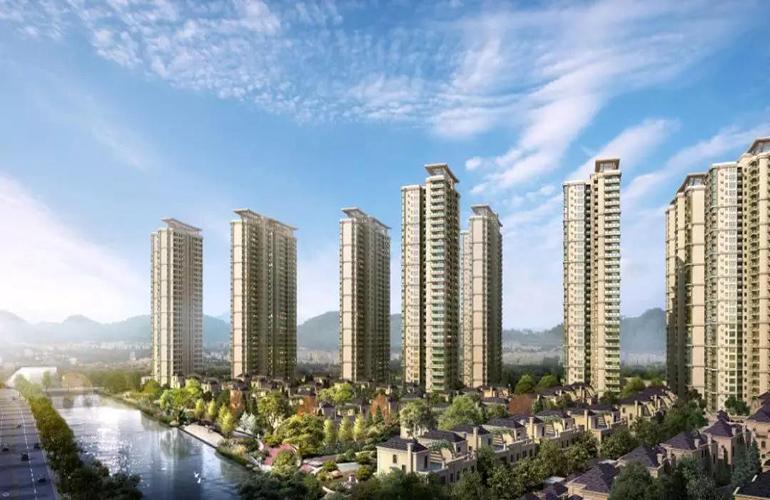 中山东城畔山中心城 预计2020年5月27#栋交楼